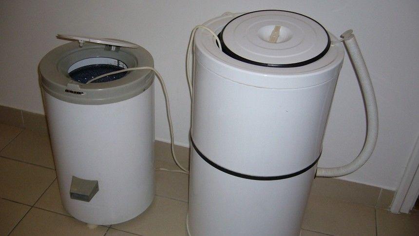 Keverőtárcsás mosógép, centrifuga